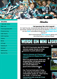 cheerleader-website